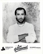 Lee Greenwood Promo Print