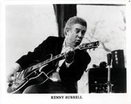 Kenny Burrell Promo Print