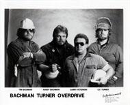 Bachman-Turner Overdrive Promo Print