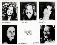 Eric Clapton Band Promo Print