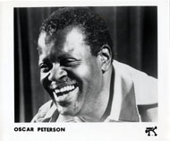 Oscar Peterson Promo Print