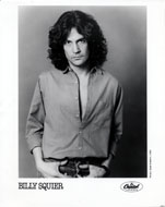 Billy Squier Promo Print