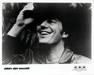 Jerry Jeff Walker Promo Print