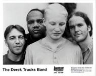 Derek Trucks Band Promo Print