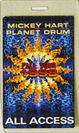 Mickey Hart & Planet Drum Laminate