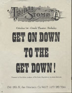 Tribal Stomp Handbill
