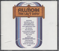 Fillmore: The Last Days CD