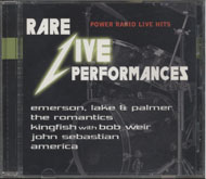 Rare Live Performances CD