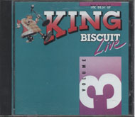 The Best Of King Biscuit Live Vol. 3 CD