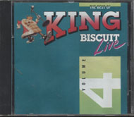 The Best Of King Biscuit Live Vol. 4 CD