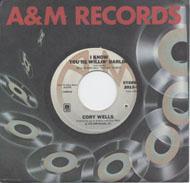 "Cory Wells Vinyl 7"" (Used)"