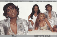 Destiny's Child Handbill