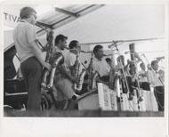 Woody Herman & His Orchestra Vintage Print