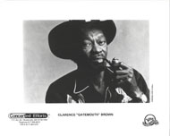 "Clarence ""Gatemouth"" Brown Promo Print"