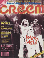 Creem Vol. 10 No. 16 Magazine