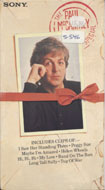 The Paul McCartney Special VHS