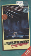 Live in San Francisco....or was it Berkeley? VHS