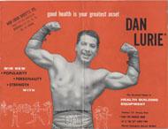 Dan Lurie Barbell Catalog Magazine