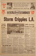 Los Angeles Herald Examiner Vol. CVII No. 140 Magazine