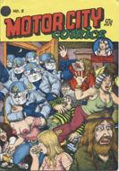 Motor City Comics No. 2 Magazine