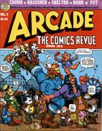 Arcade: The Comics Revue No. 1 Magazine