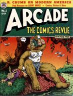 Arcade: The Comics Revue No. 2 Magazine