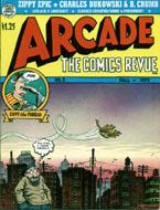Arcade: The Comics Revue No. 3 Magazine