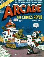 Arcade: The Comics Revue No. 4 Magazine