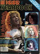 Hit Parader 13th Ed. Yearbook Magazine