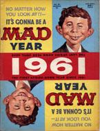 Mad Magazine No. 61 Magazine