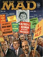 Mad Magazine No. 56 Magazine