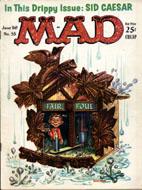 Mad Magazine No. 55 Magazine