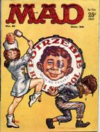 Mad Magazine No. 51 Magazine
