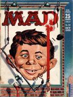 Mad Magazine No. 50 Magazine