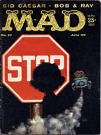 Mad Magazine No. 47 Magazine