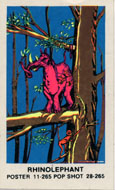 Rhinolephant Sticker