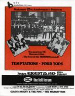 Motown's 25th Anniversary Reunion Handbill