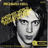 """Richard Hell Vinyl 7"""" (Used)"""