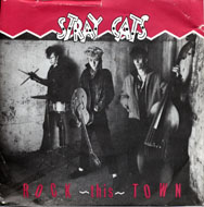 "Stray Cats Vinyl 7"" (Used)"