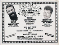 Downey vs. Alexio Handbill