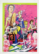 The Sex Pistols Poster