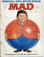 MAD Magazine No. 145 Magazine