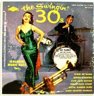 "The Swingin' 30's Vinyl 10"" (Used)"