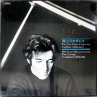 "Beethoven: The Five Piano Concertos Vinyl 12"" (New)"