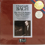"""Gould Bach Vol. 2 The French Suites Vinyl 12"""" (New)"""