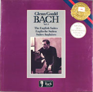 "Gould Bach Vol. 3 The English Suites Vinyl 12"" (New)"