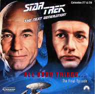 Star Trek: The Next Generation Laserdisc