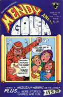 Mendy and the Golem Vol. 1 Issue 5 Comic Book
