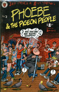 Phoebe & the Pigeon People # 2 Comic Book