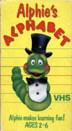 Alphie's Alphabet VHS